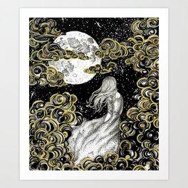 The Stargazer's Dream Art Print