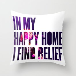Garbage - 'Happy Home' Throw Pillow