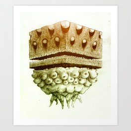 Cube of Boobs Art Print