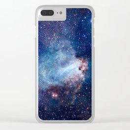 Omega Nebula Clear iPhone Case