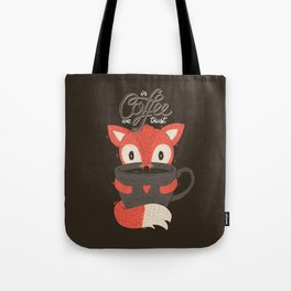 In Coffee We Trust Tote Bag