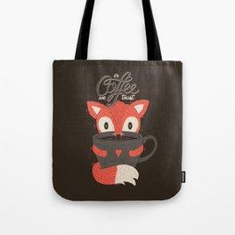 In Coffee We Trust Tote Bag