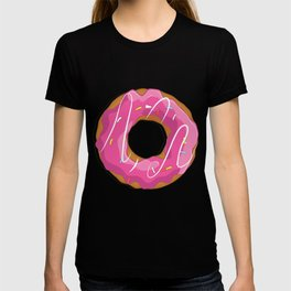 Delicious donut pattern T-shirt