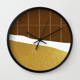 chocolate yum! Wall Clock