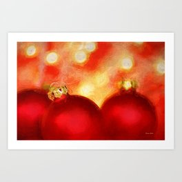 A Van Gogh Christmas Art Print