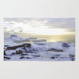 Frozen Sunrise Rug