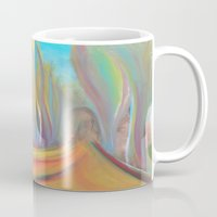 infinity Mugs featuring infinity by Loosso