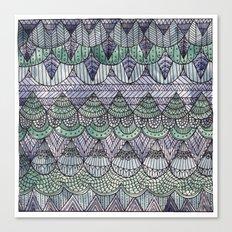 Watercolour Pattern1 Canvas Print
