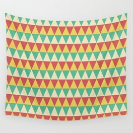 Triangle Pattern Wall Tapestry