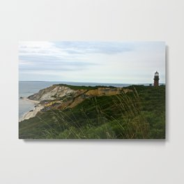 Aquinah Cliffs Metal Print