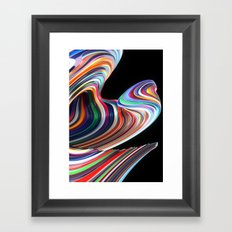 Number One Framed Art Print