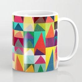 Abstract Geometric Mountains Coffee Mug