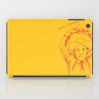 anchorman iPad Cases featuring Anchorman: Dreams of Fantana!!! by Red Misery