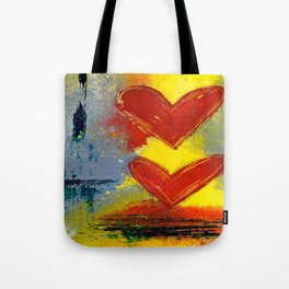 Double Love Tote Bag