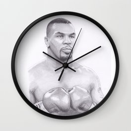 Mike Tyson - Boxing Legend Wall Clock