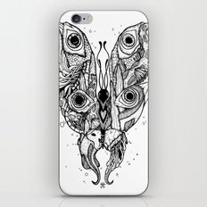my sea butterfly iPhone & iPod Skin