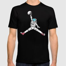 Space dunk Mens Fitted Tee Black MEDIUM