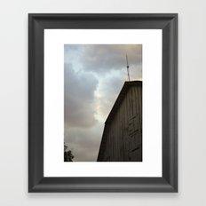 Dallas Barn Framed Art Print