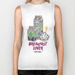 Breakfast Lover Biker Tank