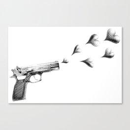 My Love Gun Canvas Print