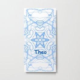 Theo Metal Print