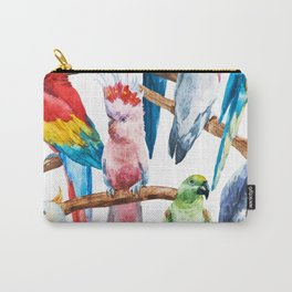 Parrot Pattern 01 Carry-All Pouch