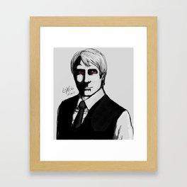 Dear Dr. Lecter Framed Art Print