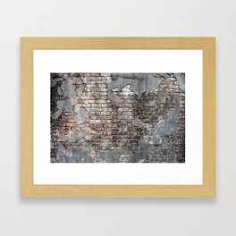 New Orleans Bricks Framed Art Print