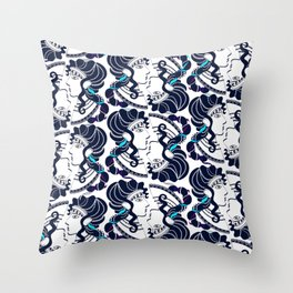 Minoan Ladies I Throw Pillow