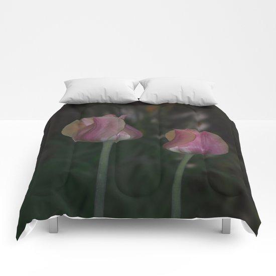 Twin Tulips  Comforters