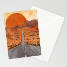 Monument Valley watercolor Stationery Cards