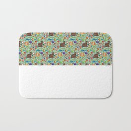 Candy Pattern Bath Mat
