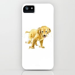 Happy Pup iPhone Case
