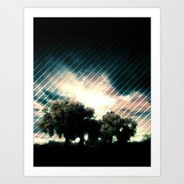 Exiting Eden Art Print