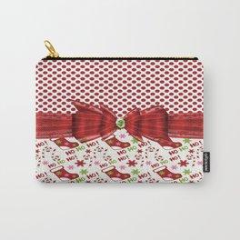 Christmas Ho Ho Ho Carry-All Pouch