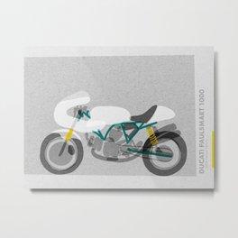 Vintage Motorcycle Metal Print