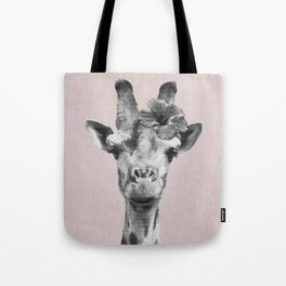 Portrait of Giraffe Tote Bag