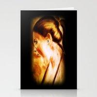 scream Stationery Cards featuring scream by Gaetano Pergamo Art & Design