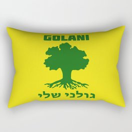 Israel Defense Forces - Golani Warrior Rectangular Pillow