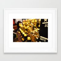 thank you Framed Art Prints featuring Thank you, Thank you. by Carlos Torres Aquino