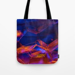Fire Bubbles Tote Bag