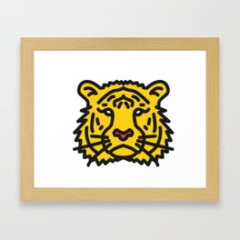 Toby The Tiger Framed Art Print