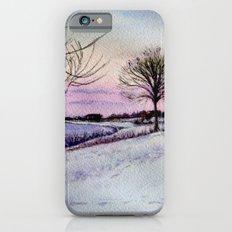 Winter evening in Racine Slim Case iPhone 6s
