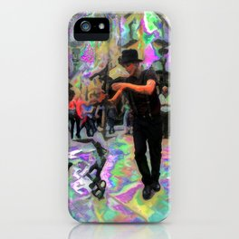 """43/52: """"Tourist in your own city/town/street"""" iPhone Case"""