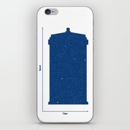 Tardis, Space and Time iPhone Skin