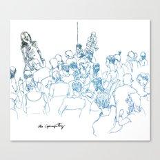 Drink N' Draw Canvas Print