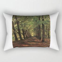 Allee in Overveen Rectangular Pillow