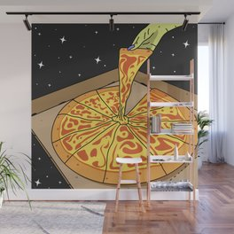 Universe Pizza Delivery Wall Mural