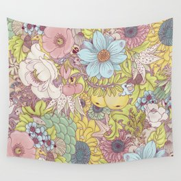 the wild side - summer tones Wall Tapestry