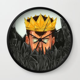 The King is Under Control  Wall Clock